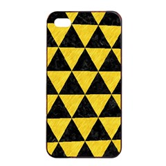 Triangle3 Black Marble & Yellow Colored Pencil Apple Iphone 4/4s Seamless Case (black)