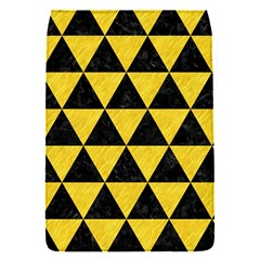 Triangle3 Black Marble & Yellow Colored Pencil Flap Covers (s)