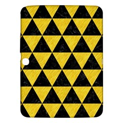 Triangle3 Black Marble & Yellow Colored Pencil Samsung Galaxy Tab 3 (10 1 ) P5200 Hardshell Case