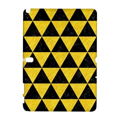 Triangle3 Black Marble & Yellow Colored Pencil Galaxy Note 1