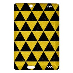 Triangle3 Black Marble & Yellow Colored Pencil Amazon Kindle Fire Hd (2013) Hardshell Case
