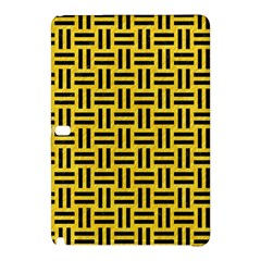Woven1 Black Marble & Yellow Colored Pencil Samsung Galaxy Tab Pro 10 1 Hardshell Case