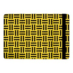Woven1 Black Marble & Yellow Colored Pencil Samsung Galaxy Tab Pro 10 1  Flip Case