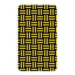 Woven1 Black Marble & Yellow Colored Pencil (r) Memory Card Reader