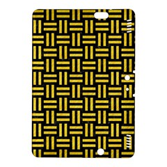 Woven1 Black Marble & Yellow Colored Pencil (r) Kindle Fire Hdx 8 9  Hardshell Case