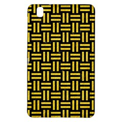 Woven1 Black Marble & Yellow Colored Pencil (r) Samsung Galaxy Tab Pro 8 4 Hardshell Case