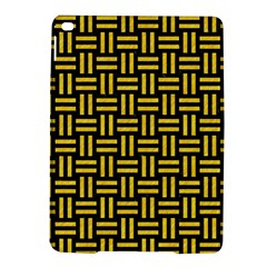 Woven1 Black Marble & Yellow Colored Pencil (r) Ipad Air 2 Hardshell Cases