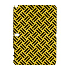 Woven2 Black Marble & Yellow Colored Pencil Galaxy Note 1