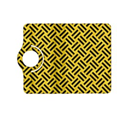 Woven2 Black Marble & Yellow Colored Pencil Kindle Fire Hd (2013) Flip 360 Case