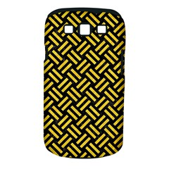 Woven2 Black Marble & Yellow Colored Pencil (r) Samsung Galaxy S Iii Classic Hardshell Case (pc+silicone)