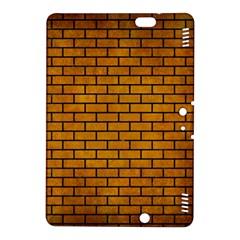 Brick1 Black Marble & Yellow Grunge Kindle Fire Hdx 8 9  Hardshell Case