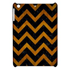 Chevron9 Black Marble & Yellow Grunge (r) Apple Ipad Mini Hardshell Case