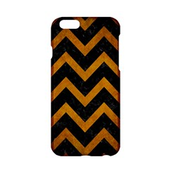 Chevron9 Black Marble & Yellow Grunge (r) Apple Iphone 6/6s Hardshell Case