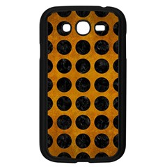 Circles1 Black Marble & Yellow Grunge Samsung Galaxy Grand Duos I9082 Case (black)