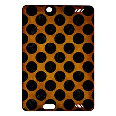 Circles2 Black Marble & Yellow Grunge Amazon Kindle Fire Hd (2013) Hardshell Case