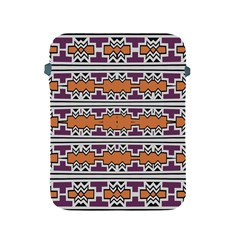 Purple And Brown Shapes                            Sony Xperia Zl (l35h) Hardshell Case