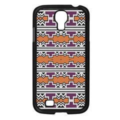 Purple And Brown Shapes                            Sony Xperia V Hardshell Case