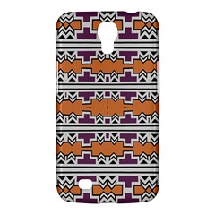 Purple And Brown Shapes                            Sony Xperia Sp (m35h) Hardshell Case