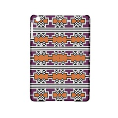 Purple And Brown Shapes                            Apple Ipad Air Hardshell Case
