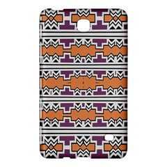 Purple And Brown Shapes                            Samsung Galaxy Tab 4 (7 ) Hardshell Case