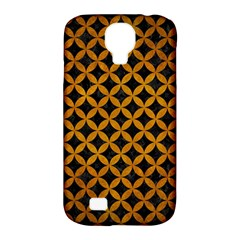 Circles3 Black Marble & Yellow Grunge (r) Samsung Galaxy S4 Classic Hardshell Case (pc+silicone)