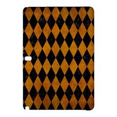 Diamond1 Black Marble & Yellow Grunge Samsung Galaxy Tab Pro 10 1 Hardshell Case