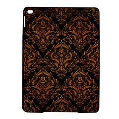 Damask1 Black Marble & Yellow Grunge (r) Ipad Air 2 Hardshell Cases