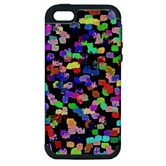 Colorful Paint Strokes On A Black Background                          Apple Ipod Touch 5 Hardshell Case