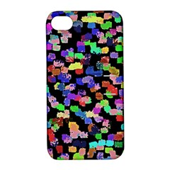 Colorful Paint Strokes On A Black Background                          Samsung Galaxy S3 Mini I8190 Hardshell Case