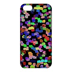 Colorful Paint Strokes On A Black Background                          Apple Iphone 5s Hardshell Case