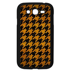 Houndstooth1 Black Marble & Yellow Grunge Samsung Galaxy Grand Duos I9082 Case (black)