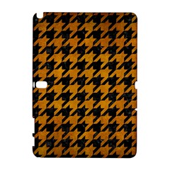 Houndstooth1 Black Marble & Yellow Grunge Galaxy Note 1