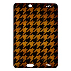 Houndstooth1 Black Marble & Yellow Grunge Amazon Kindle Fire Hd (2013) Hardshell Case