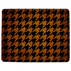 Houndstooth1 Black Marble & Yellow Grunge Jigsaw Puzzle Photo Stand (rectangular)