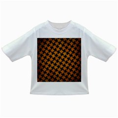 Houndstooth2 Black Marble & Yellow Grunge Infant/toddler T Shirts