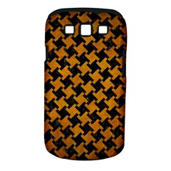 Houndstooth2 Black Marble & Yellow Grunge Samsung Galaxy S Iii Classic Hardshell Case (pc+silicone)