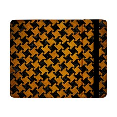 Houndstooth2 Black Marble & Yellow Grunge Samsung Galaxy Tab Pro 8 4  Flip Case