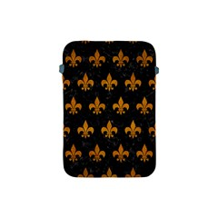 Royal1 Black Marble & Yellow Grunge Apple Ipad Mini Protective Soft Cases