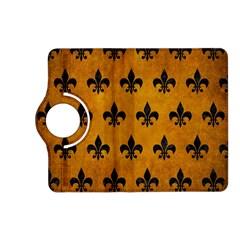 Royal1 Black Marble & Yellow Grunge (r) Kindle Fire Hd (2013) Flip 360 Case