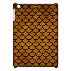 Scales1 Black Marble & Yellow Grunge Apple Ipad Mini Hardshell Case