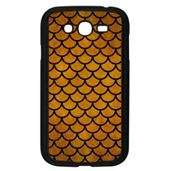 Scales1 Black Marble & Yellow Grunge Samsung Galaxy Grand Duos I9082 Case (black)