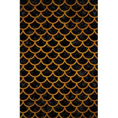 Scales1 Black Marble & Yellow Grunge (r) 5 5  X 8 5  Notebooks
