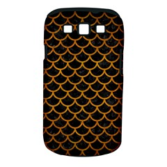Scales1 Black Marble & Yellow Grunge (r) Samsung Galaxy S Iii Classic Hardshell Case (pc+silicone)