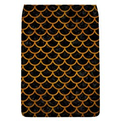 Scales1 Black Marble & Yellow Grunge (r) Flap Covers (s)