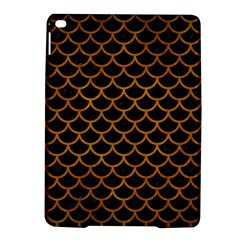Scales1 Black Marble & Yellow Grunge (r) Ipad Air 2 Hardshell Cases