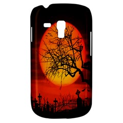 Helloween Midnight Graveyard Silhouette Galaxy S3 Mini