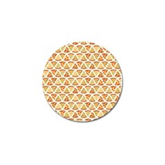 Food Pizza Bread Pasta Triangle Golf Ball Marker (4 Pack)