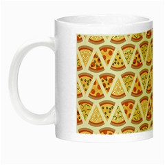 Food Pizza Bread Pasta Triangle Night Luminous Mugs