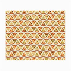 Food Pizza Bread Pasta Triangle Small Glasses Cloth