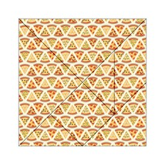 Food Pizza Bread Pasta Triangle Acrylic Tangram Puzzle (6  X 6 )